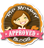 Top Mommy Approved Blog Logo