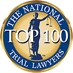 The National Trial Lawyers Top 100 Badge